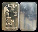 Father's Day 1982' Art Bar by National Mint. THUMBNAIL