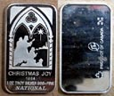 Christmas Joy 1984' Art Bar by National Mint.