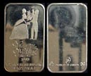 Your Wedding 1985' Art Bar by National Mint. THUMBNAIL