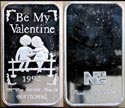 Be My Valentine 1992' Art Bar.
