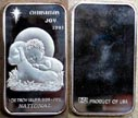 Christmas Joy 1991' Art Bar by National Mint. THUMBNAIL