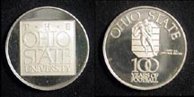 Ohio State - 100 Years of Football' Art Bar. THUMBNAIL