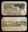 Man O' War' Art Bar by Pioneer Mint. THUMBNAIL