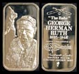Babe Ruth' Art Bar by Silver Creations.