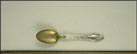 Floral, Aberdeen, South Dakota Souvenir Spoon