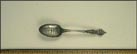 Washington's House, White House, Mt. Vernon, Virginia Souvenir Spoon