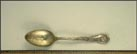 The Alamo, 1895, San Antonio, Texas Souvenir Spoon