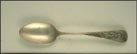 New York, Man With Sword Souvenir Spoon