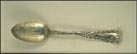 Brooklyn Bridge, Brooklyn, New York Souvenir Spoon