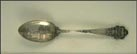 Bridge, Ship, Cincinnati, Ohio Souvenir Spoon THUMBNAIL