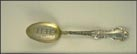 Masonic Temple, Toledo, Ohio Souvenir Spoon