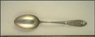 Cut Out, Des Moines, Iowa Souvenir Spoon
