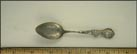 Old Kentucky Home, State Seal, Louisville, Kentucky Souvenir Spoon THUMBNAIL