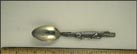 Alligator Handle, New Orleans, Louisiana Souvenir Spoon THUMBNAIL