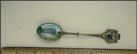 Enameled Acadian Home, Crowley, Louisiana Souvenir Spoon THUMBNAIL