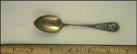 1492 Columbus 1892 World's Fair Souvenir Spoon THUMBNAIL