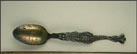 Crocodile Handle, Daytona Beach, Florida Souvenir Spoon THUMBNAIL