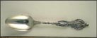 Missouri State Seal, Pierre La Clede, Old Fort St. Louis... Souvenir Spoon THUMBNAIL