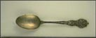 State Seal, Furniture State, Detroit, Michigan Souvenir Spoon THUMBNAIL