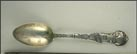 Golden Gate, Fruit, Bear, Eureka 1849, San Francisco, California Souvenir Spoon THUMBNAIL