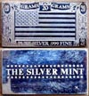 U. S. Flag' Art Bar by Silver Mint.