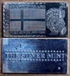 Swedish Flag' Art Bar by Silver Mint. THUMBNAIL