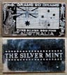 Australian Flag' Art Bar by Silver Mint.