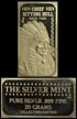 Chief Sitting Bull' Art Bar by Silver Mint.