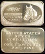 Secretariat' Art Bar by United States Silver Corp.. THUMBNAIL