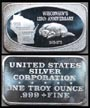 Wisconsin's 125th Anniversary' Art Bar by United States Silver Corp.. THUMBNAIL