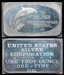 Dolphin' Art Bar by United States Silver Corp..