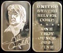 Glen Campbell' Art Bar by United States Silver Corp.. THUMBNAIL