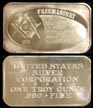 Freemasonry' Art Bar by United States Silver Corp..