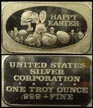 Happy Easter' Art Bar by United States Silver Corp.. THUMBNAIL