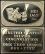 His Day 1974' Art Bar by United States Silver Corp.. THUMBNAIL