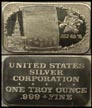 American Bicentennial' Art Bar by United States Silver Corp..