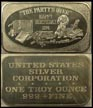 Happy Birthday 1974' Art Bar by United States Silver Corp.. THUMBNAIL