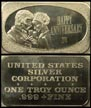 Happy Anniversary 1974' Art Bar by United States Silver Corp.. THUMBNAIL