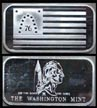 Flag Series - Bennington Flag' Art Bar by Washington Mint. THUMBNAIL