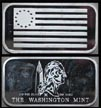 Flag Series - Betsy Ross Flag' Art Bar by Washington Mint.