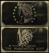 Classic Large Cent' Art Bar by Washington Mint.