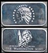 Indian Half Eagle' Art Bar by Washington Mint.
