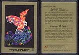 World Peace by Laurence M. Gartel - artist proof; 1 g 999.9 Gold