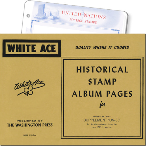 White Ace Supplement - United Nations Singles, 'UN33', 1985 MAIN