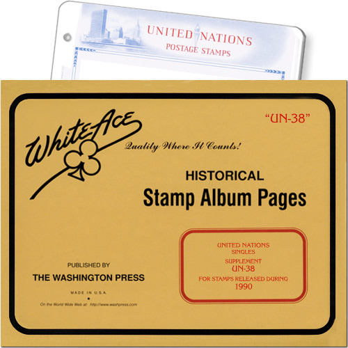 White Ace Supplement - United Nations Singles, 'UN38', 1990 MAIN