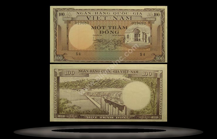 Vietnam, South Banknote, 100 Dong, ND (1966), P#18a