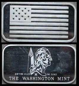 Flag Series - Ft. McHenry Flag' Art Bar by Washington Mint. MAIN