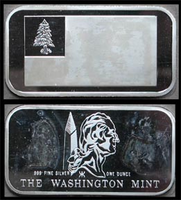 Flag Series - Bunker Hill Flag' Art Bar by Washington Mint.