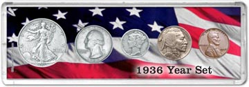 1936 Year Set Coin Gift Set THUMBNAIL