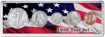 1938 Year Set Coin Gift Set THUMBNAIL